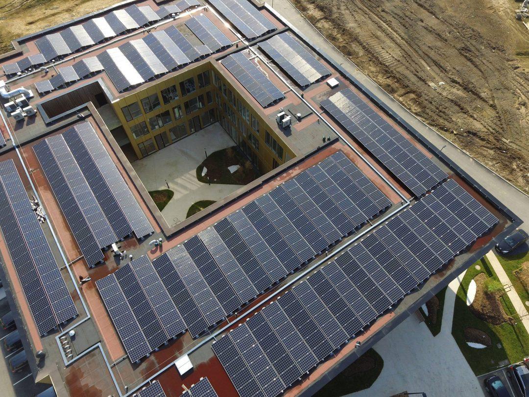 Parc d'activités – Lesquin – 198 kWc