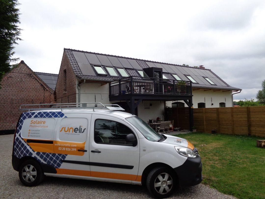 Maison – Bondues – 9 kWc