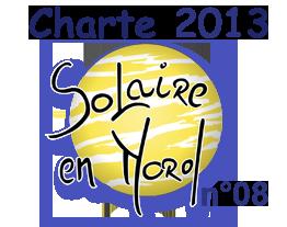 Charte solaire en Nord 2013