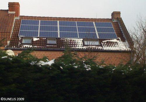 panneau solaire production kwh