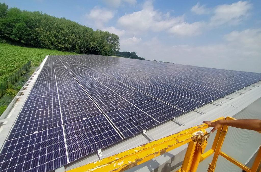 Entrepôt de stockage – Lapugnoy – 100 kWc