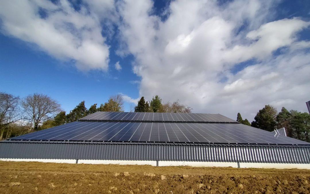 Hangar Agricole – Framerville – 100 kWc
