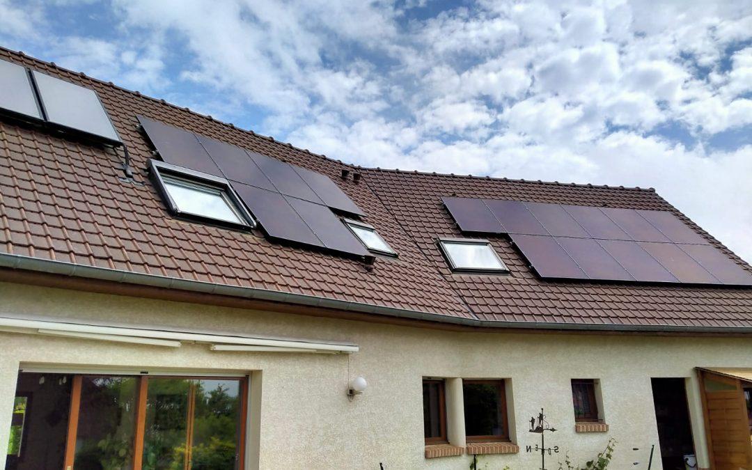Maison – Villers-Bocage – 6 kWc