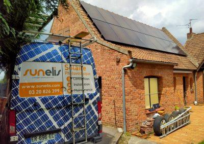 Maison – Roeulx – 6 kWc