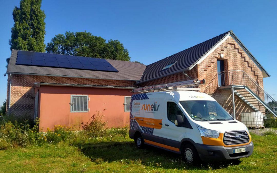 Maison – Clastres – 9 kWc