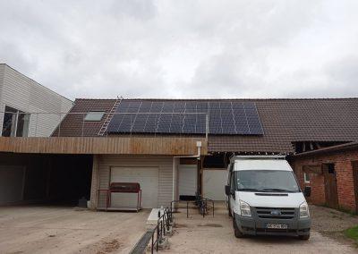 Hangar d'entreprise – Ostreville – 9 kWc