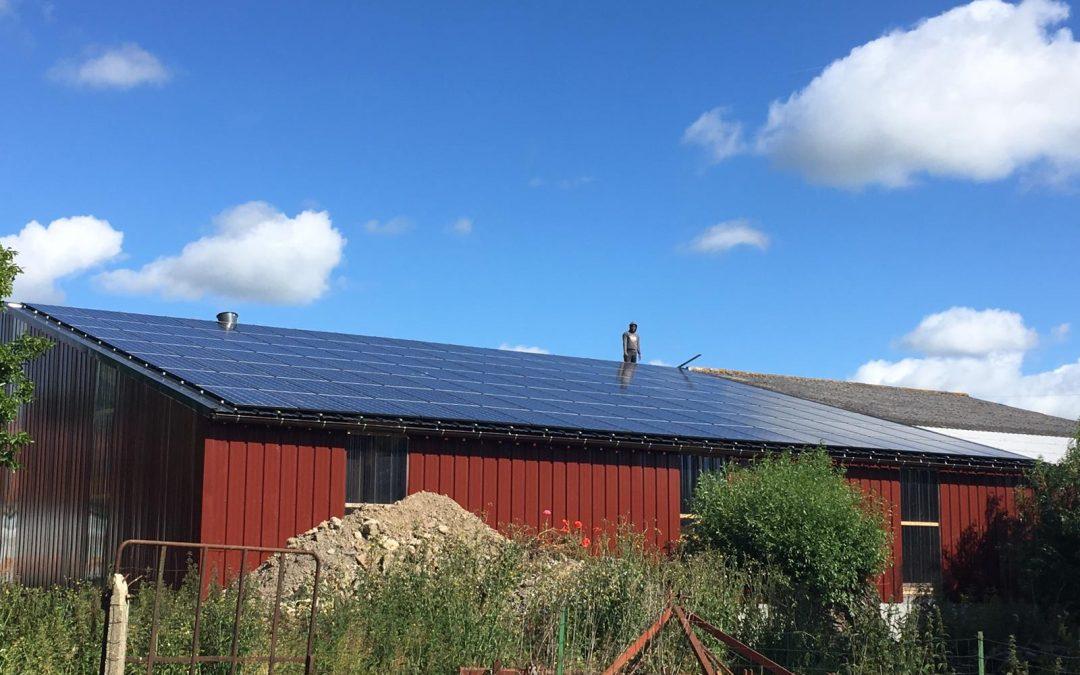 Hangar agricole – Ochtezeele – 36 kWc