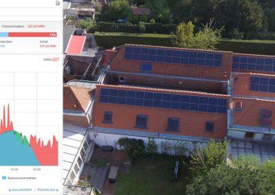 Chocolaterie Benoit – Marcq-en-Baroeul – 15 kWc