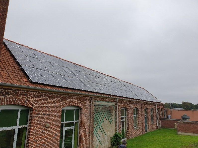 Ecole Delobelle – Burbure – 32 kWc
