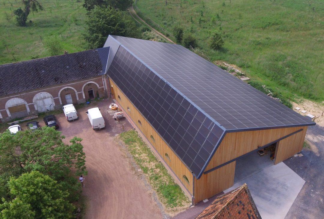 Hangar agricole – Valhuon – 159 kWc