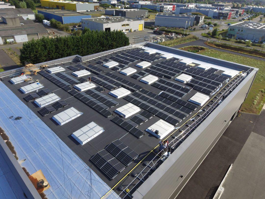 3E Concept – Hallennes Lez Haubourdin – 100 kWc