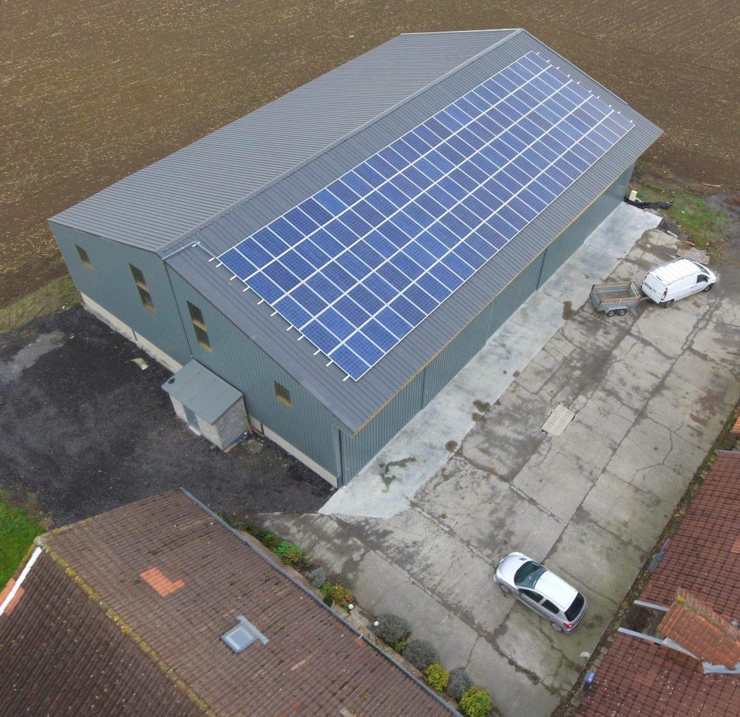 Hangar agricole – Frelinghien – 35 kWc
