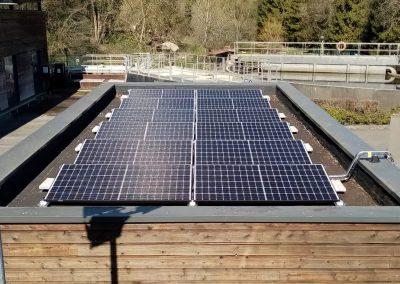 Station d'épuration des eaux usées – Crépy-en-Valois – 4,5 kWc